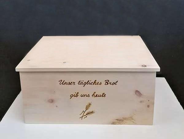 Zirben Brotbox mit Deckel