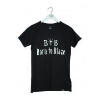 Damen Shirt Born to Blaze Nachleuchtend