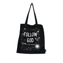 Stofftasche Follow God